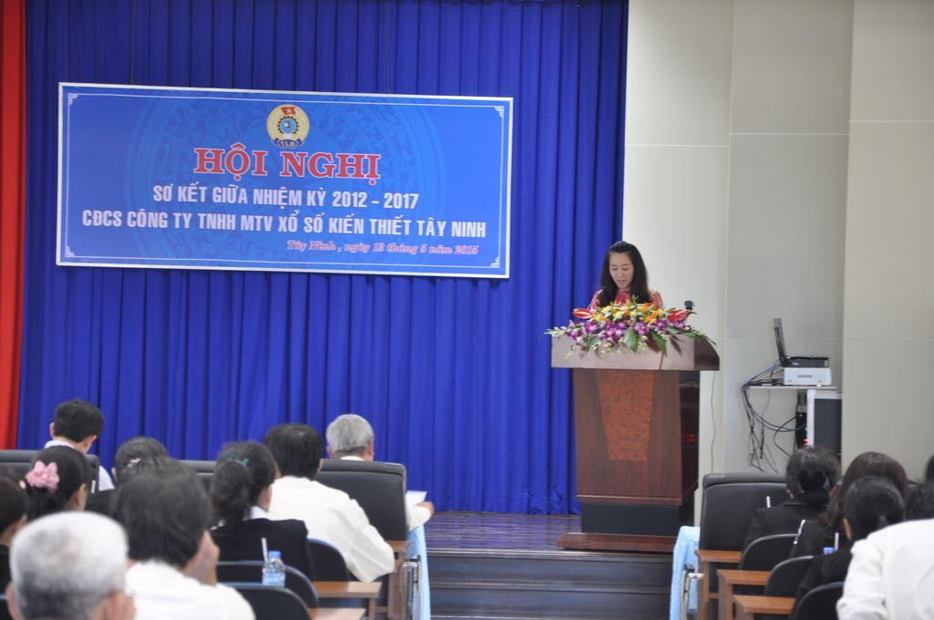 Hội Nghị Sơ Kết Giữa Nhiệm Kỳ 2012 – 2017 BCH Công Đoàn